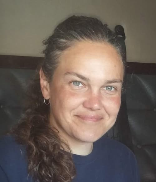 A portrait of Karen Van Hove