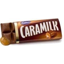 Caramilk chocolate bar