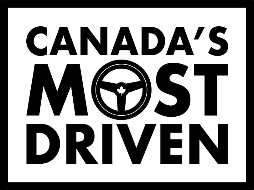 A logo for Canada's Most Driven contest