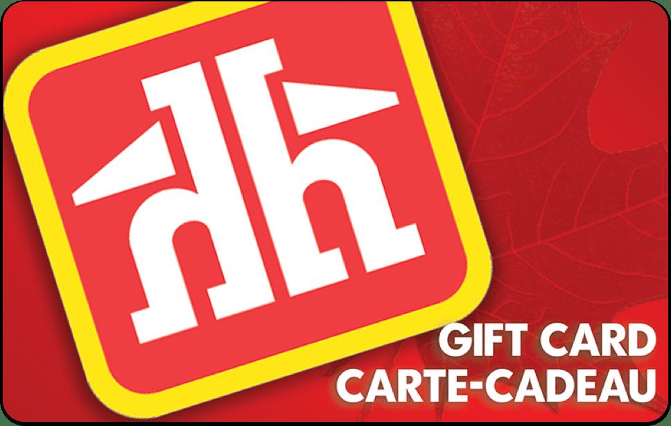 Carte-cadeau Home Hardware