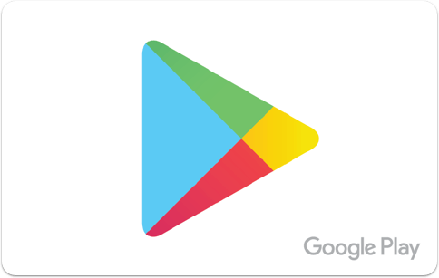Carte-cadeau Google Play
