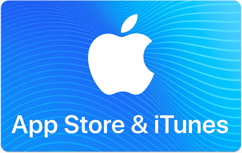 Carte-cadeau App Store et iTunes d'Apple
