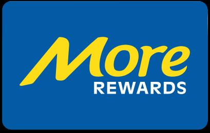 More Rewards card