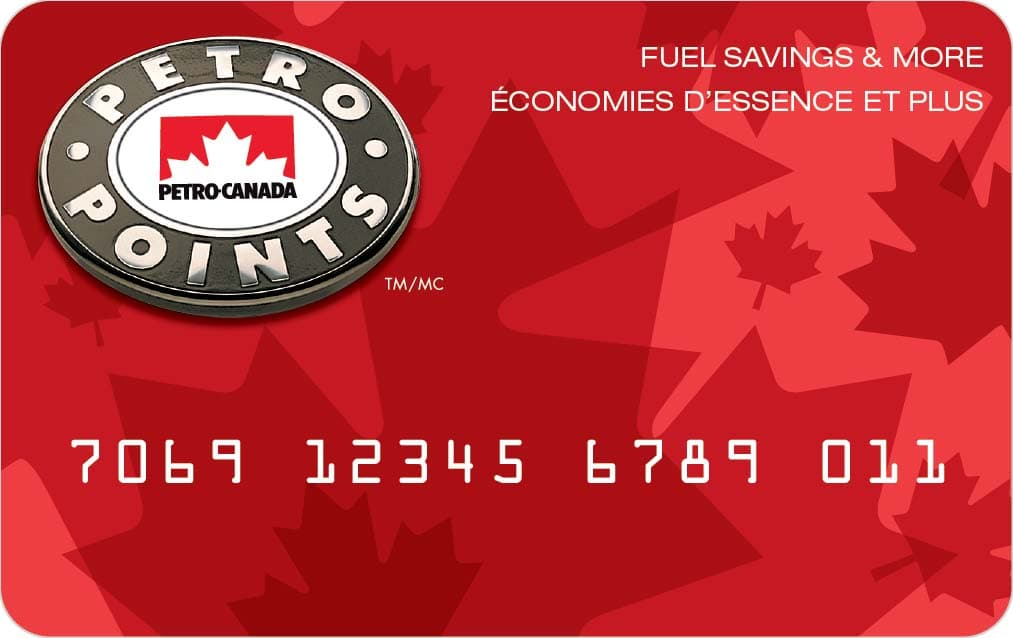 Petro-Points card