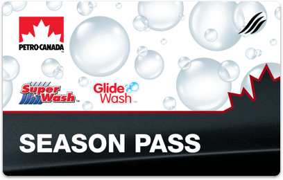 Petro-Canada car wash Season Pass card